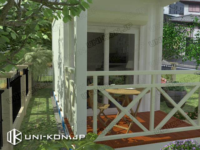 趣味部屋・物置コンテナハウス