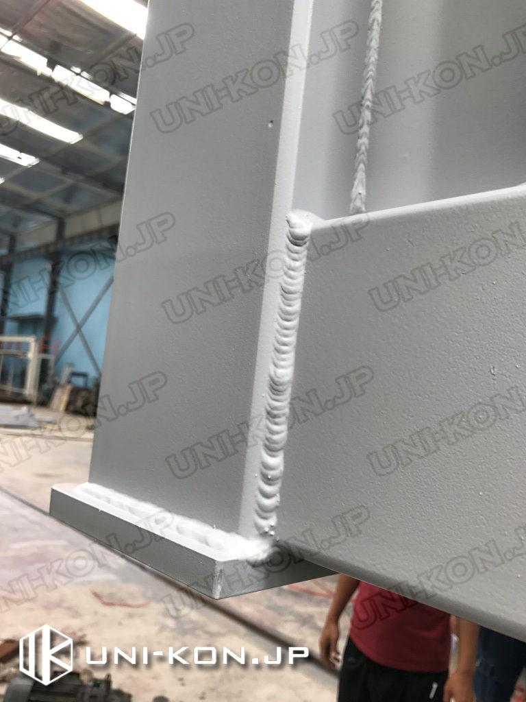 Uni-Konコンテナハウス品質:溶接線
