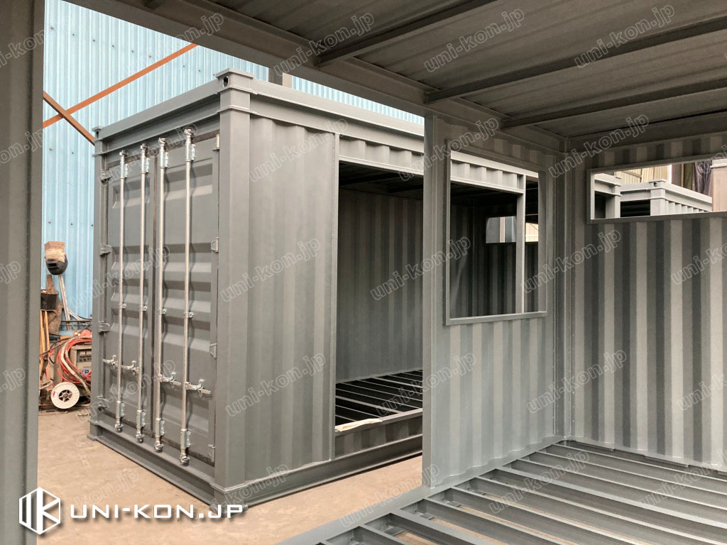 JIS鋼材コンテナハウス民泊・ホテル完成3